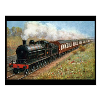 """Old Postcard - L and NWR """"Scotch Express"""""""