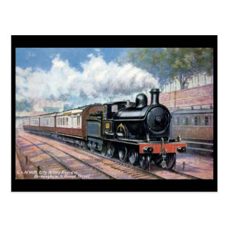 Old Postcard - L & NWR City to City Express