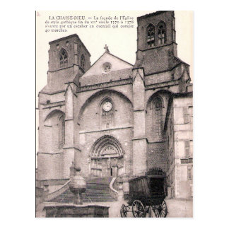 Old Postcard - La Chaise Dieu, Haute Loire, France