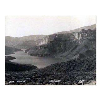 Old Postcard - Lake Apache, Arizona, USA