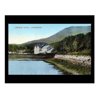 Old Postcard - Leenane Hotel, Connemara, Ireland
