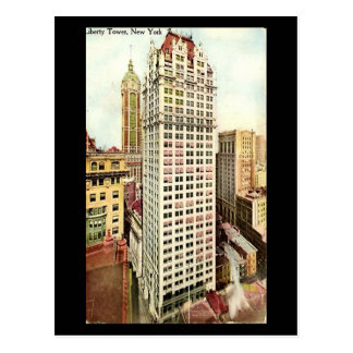 Old Postcard - Liberty Tower, New York City