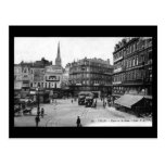 Old Postcard - Lille, Place de la Gare