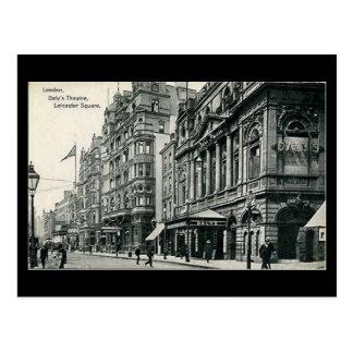 Old Postcard - London, Daly's Theatre, Leicester S