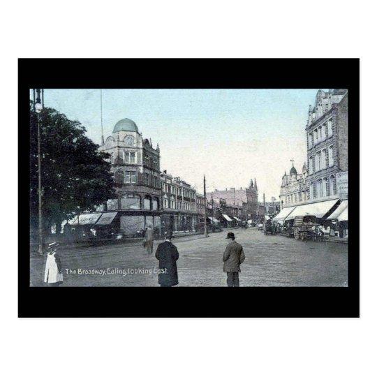 Old Postcard, London, Ealing Broadway Postcard