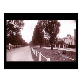 Old Postcard, London, Ealing Common Postcard