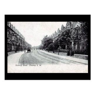 Old Postcard - London, Putney, Norroy Road