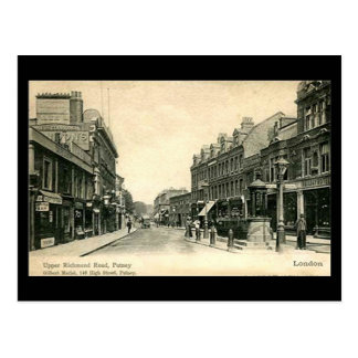 Old Postcard - London, Putney, Upper Richmond Road