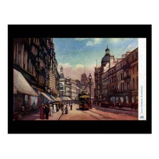 Old Postcard - Lord Street, Liverpool