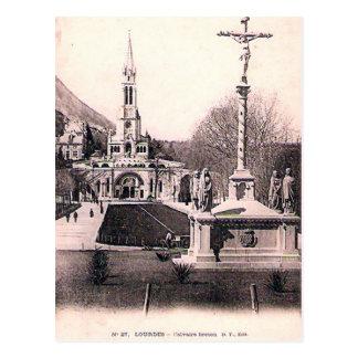 Old Postcard - Lourdes, Calvaire Breton