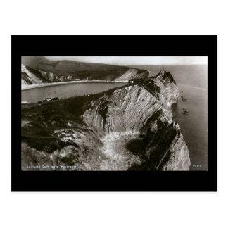 Old Postcard, Lulworth Cove, Dorset Postcard