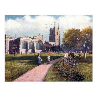 Old Postcard - Luton Parish Church