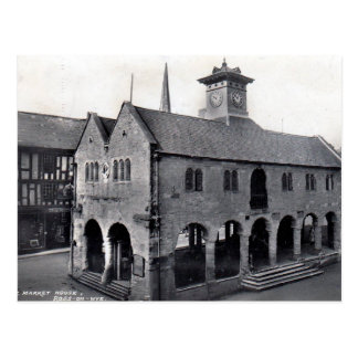 Old Postcard - Market House, Ross-on-Wye