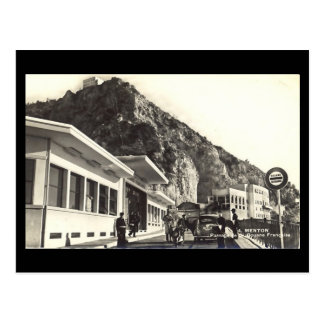 Old Postcard - Menton, Customs