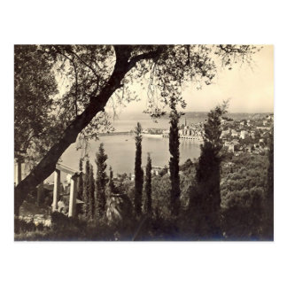 Old Postcard - Menton, France