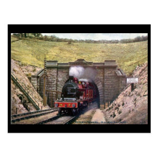 Old Postcard - Midland Railway, Totley Tunnel