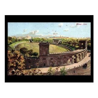 Old Postcard - Milan, Arena Civica