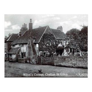 Old Postcard - Milton's Cottage, Chalfont St Giles