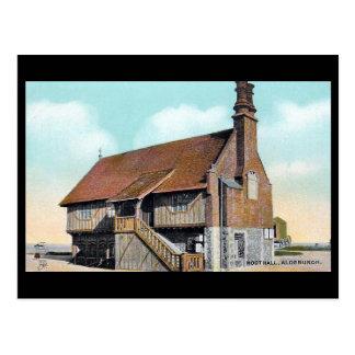 Old Postcard - Moot Hall, Aldeburgh, Suffolk