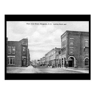 Old Postcard - Morganton, North Carolina, USA
