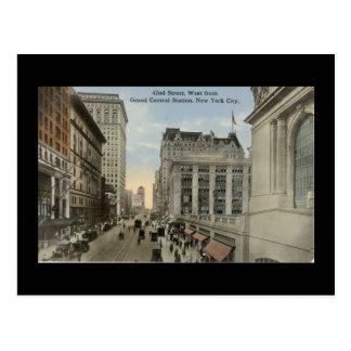 Old Postcard, New York City, 42nd Street Postcard