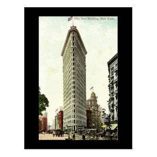 Old Postcard New York City Flat Iron Building Postcards
