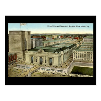 Old Postcard, New York City, Grand Central Station Postcard
