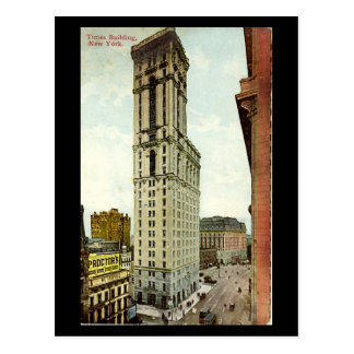 Old Postcard - New York City, Times Building