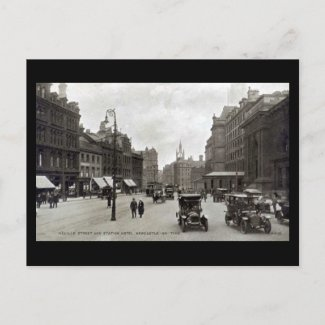 Old Postcard - Newcastle-on-Tyne postcard