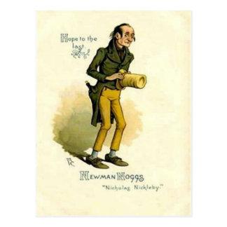 "Old Postcard - Newman Noggs -""Nicholas Nickleby"""