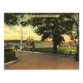 Old Postcard - Newport, Rhode Island, USA
