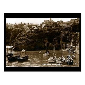 Old Postcard - Newquay, Cornwall