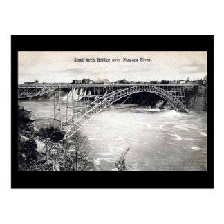 Old Postcard - Niagara, Steel Arch Bridge