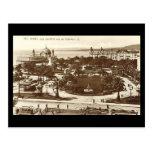 Old Postcard, Nice, Jardins