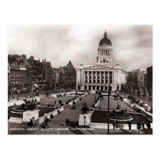 Old Postcard - Nottingham