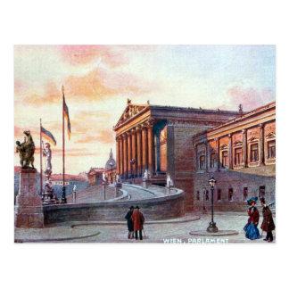Old Postcard - Parlament, Wien