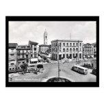 Old Postcard - Pescara, Piazzale Stazione