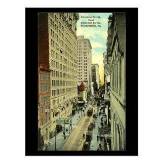 Old Postcard - Philadelphia, Chestnut Street