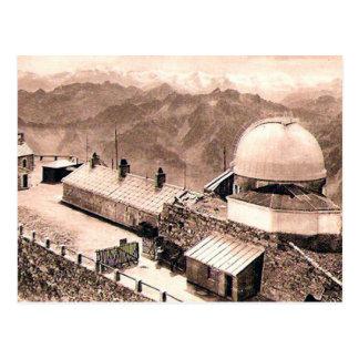Old Postcard - Pic du Midi de Bigorre