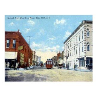 Old Postcard - Pine Bluff, Arkansas, USA.