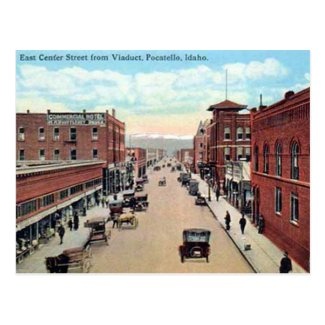 Old Postcard - Pocatello, Idaho, USA