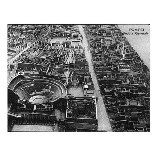 Old Postcard - Pompei