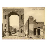 Old Postcard - Pompei, Arco di Calligola