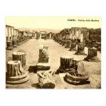 Old Postcard - Pompei, Veduta della Basilica