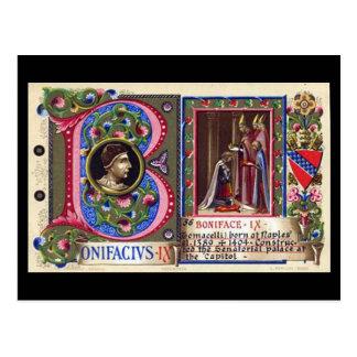 Old Postcard - Pope Boniface IX