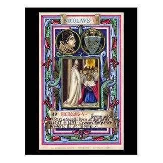 Old Postcard - Pope Nicholas V