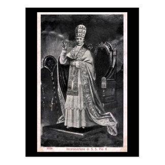 Old Postcard - Pope Pius X