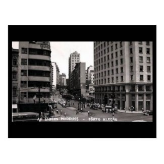 Old Postcard - Porto Alegre, Brazil