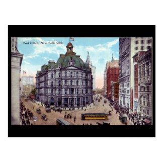 Old Postcard, Post Office, New York City Postcard