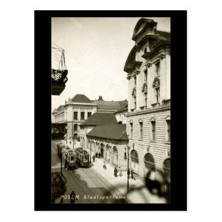 Old Postcard - Poznan, Poland
